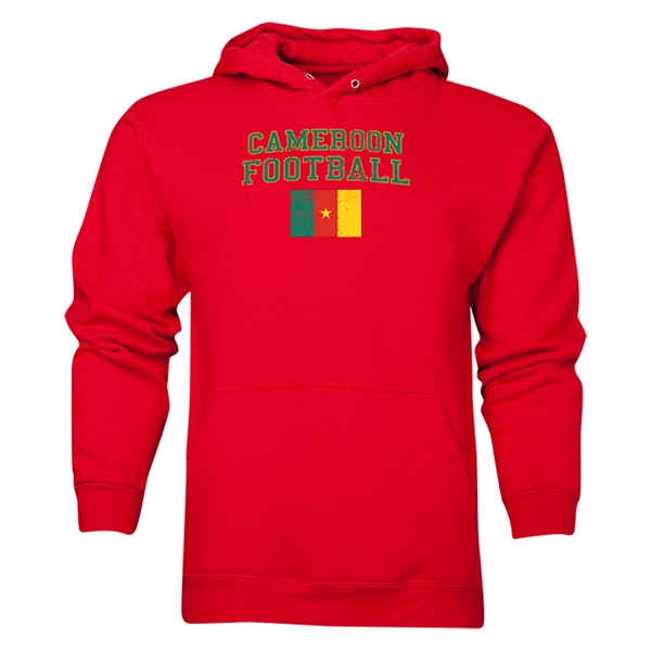 Cameroon Football Hoody (Red)