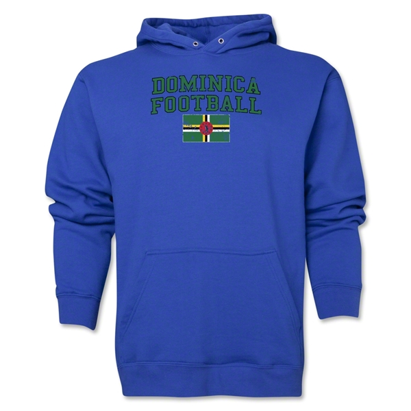 Dominica Football Hoody (Royal)