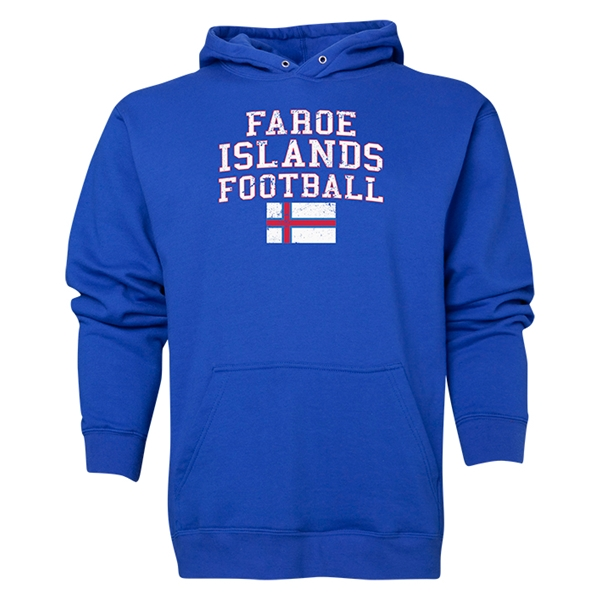 Faroe Islands Football Hoody (Royal)