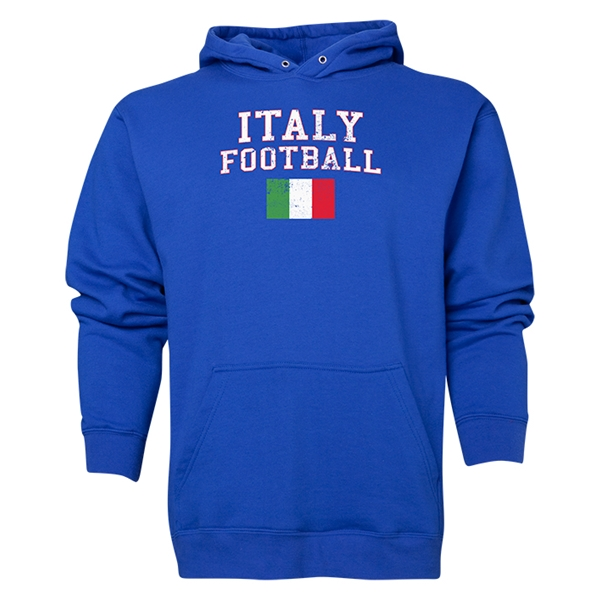 Italy Football Hoody (Royal)