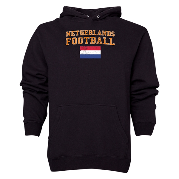 Netherlands Football Hoody (Black)