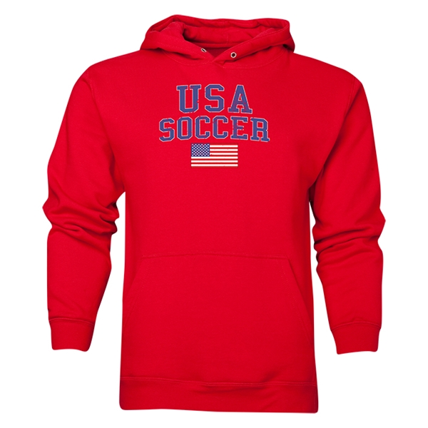 USA Soccer Hoody (Red)