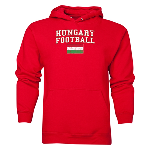 Hungary Football Hoody (Red)