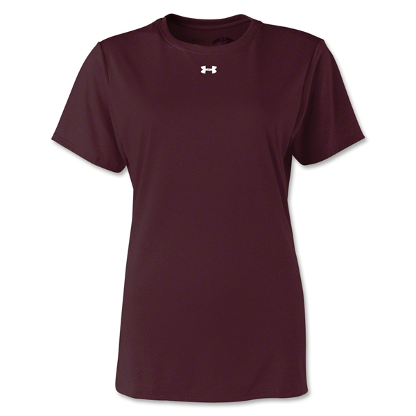 Under Armour Women's Locker T-Shirt (Maroon)