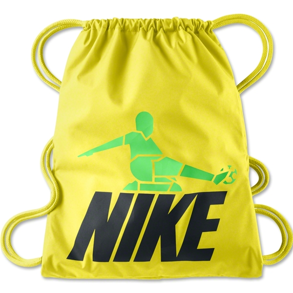 Nike T90 Soccer Gymsack (Yellow)