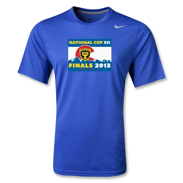 National Cup Finals 2013 Poly T-Shirt (Royal)