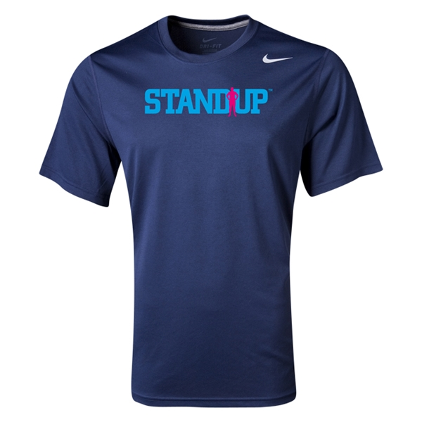 StandUp Nike Legend Poly Top (Navy)