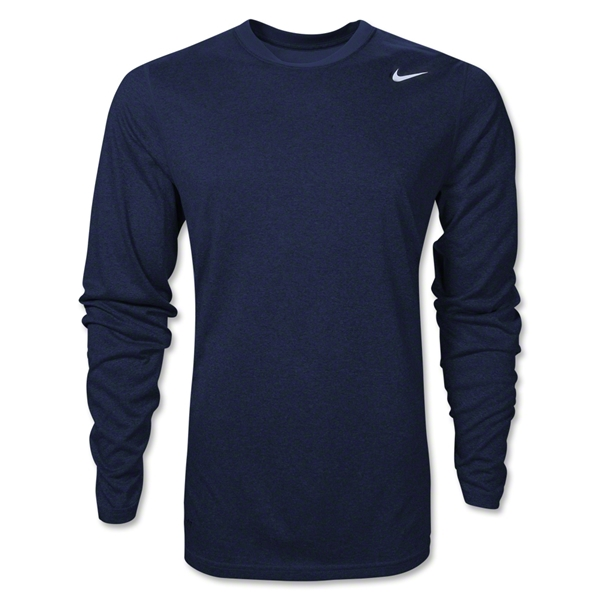 Nike Legend Long Sleeve Poly Top (Navy)