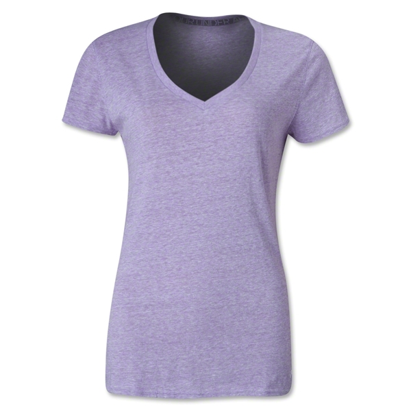 Under Armour Women's Charged Cotton Undeniable T-Shirt (Lavender)