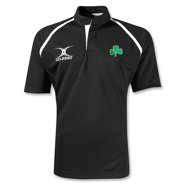 Shamrock Xact Rugby Jersey (Black)