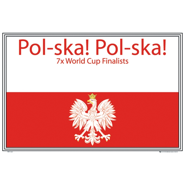 Poland Set of 2 Soccer Posters