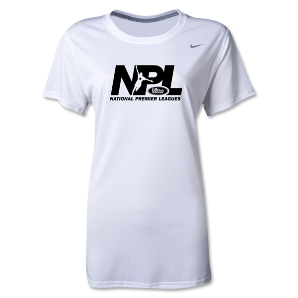 US Club Soccer NPL Women's Legend T-Shirt (White)