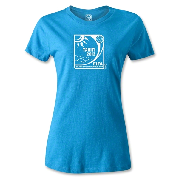 FIFA Beach World Cup 2013 Women's T-Shirt (Turquoise)