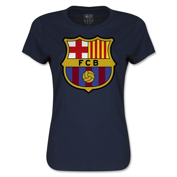 Barcelona Women's T-Shirt (Navy)