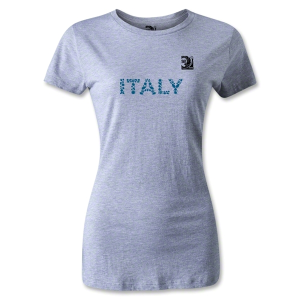 FIFA Confederations Cup 2013 Women's Italy T-Shirt (Gray)