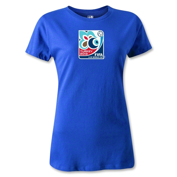 FIFA Men's U20 World Cup 2013 Women's Event Emblem T-Shirt (Royal)
