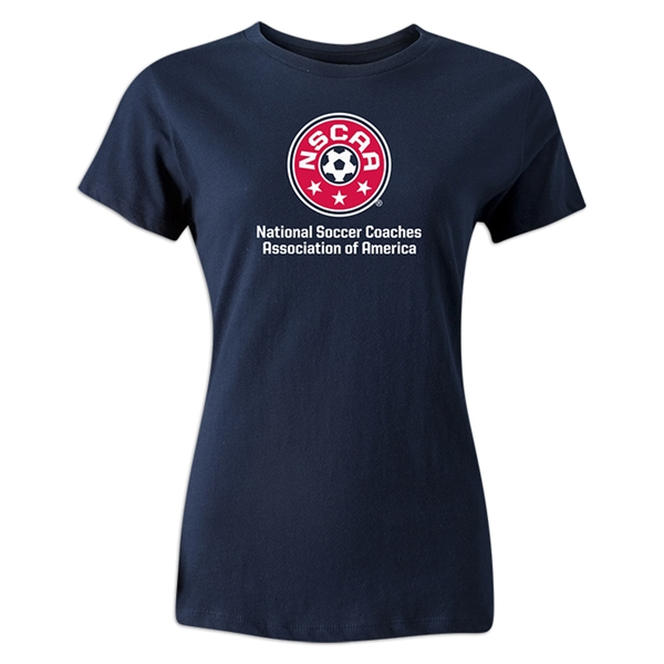 NSCAA Women's T-Shirt (Navy)