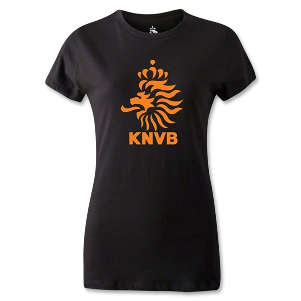 Netherlands Women's T-Shirt (Black)