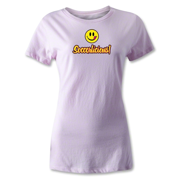 Utopia Soccerlicious Women's T-Shirt (White)