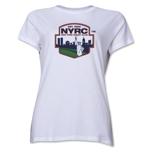 New York Rugby Club Women's T-Shirt (White)