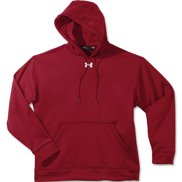 Under Armour Team Fleece Hoody (Cardinal)