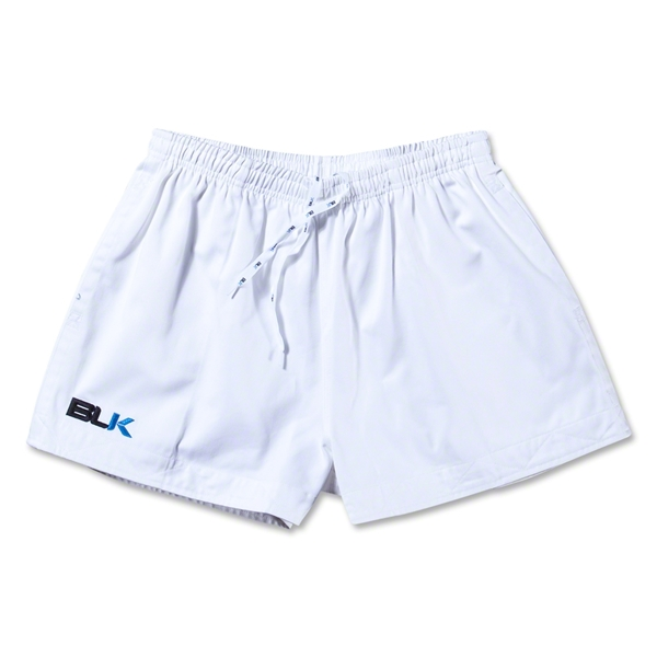 BLK Training Rugby Short (White)