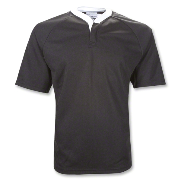 WRS Legacy SS Rugby Jersey (Black)