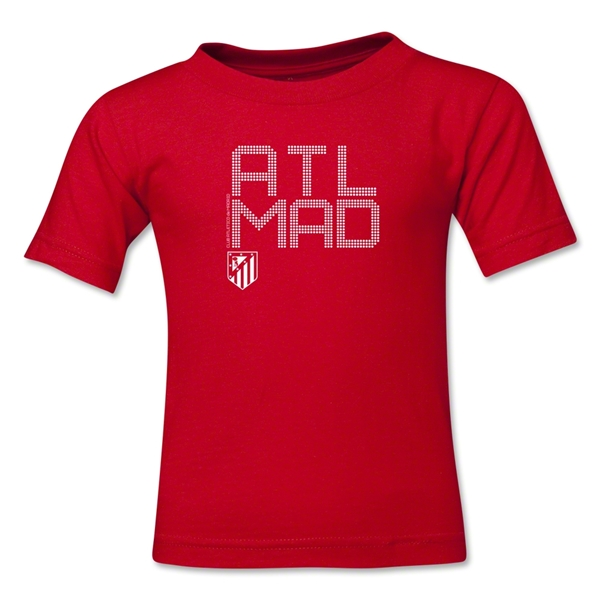 Atletico Madrid ATL MAD Kids T-Shirt (Red)