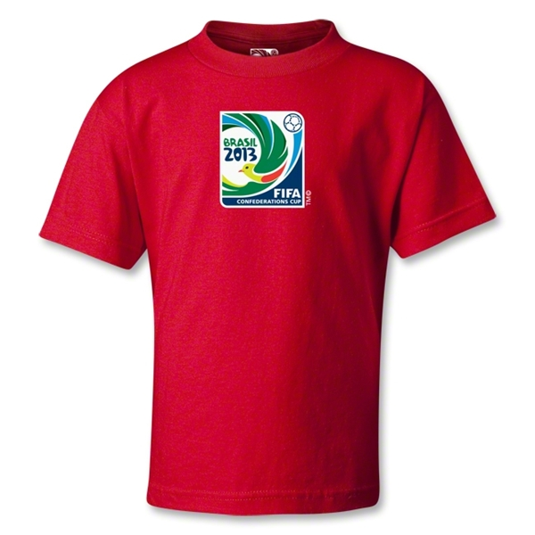 FIFA Confederations Cup 2013 Kids T-Shirt (Red)