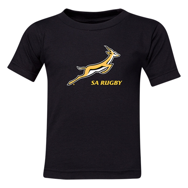 South Africa Springboks Kids T-Shirt (Black)