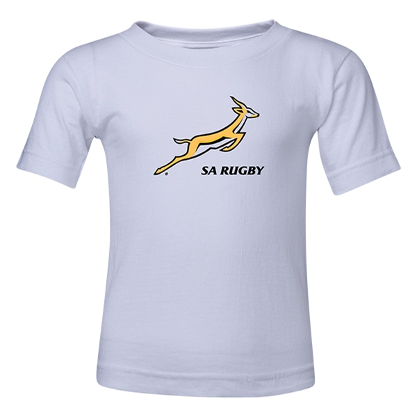 South Africa Springboks Kids T-Shirt (White)