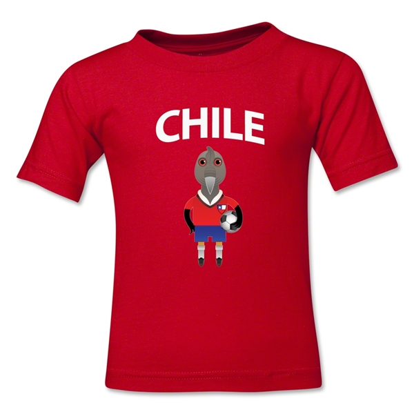 Chile Animal Mascot Kids T-Shirt (Red)