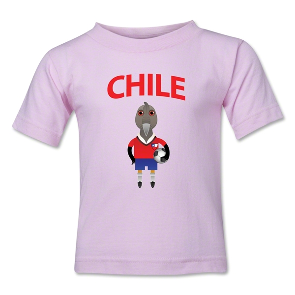 Chile Animal Mascot Kids T-Shirt (Pink)