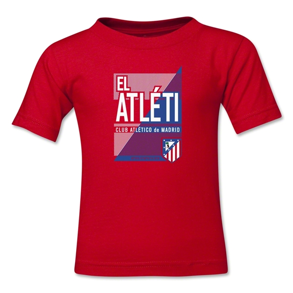 Atletico Madrid El Aleti Toddler T-Shirt (Red)