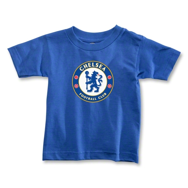 Chelsea Crest Toddler T-Shirt (Royal)