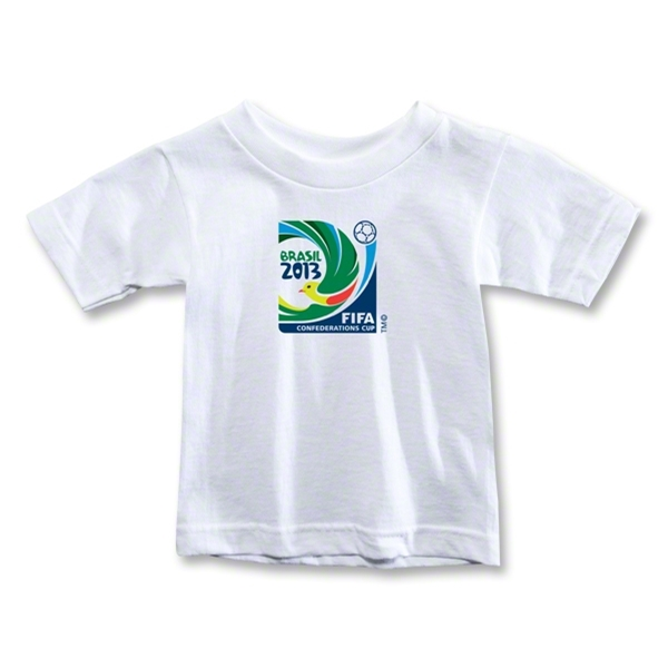 FIFA Confederations Cup 2013 Toddler Emblem T-Shirt (White)