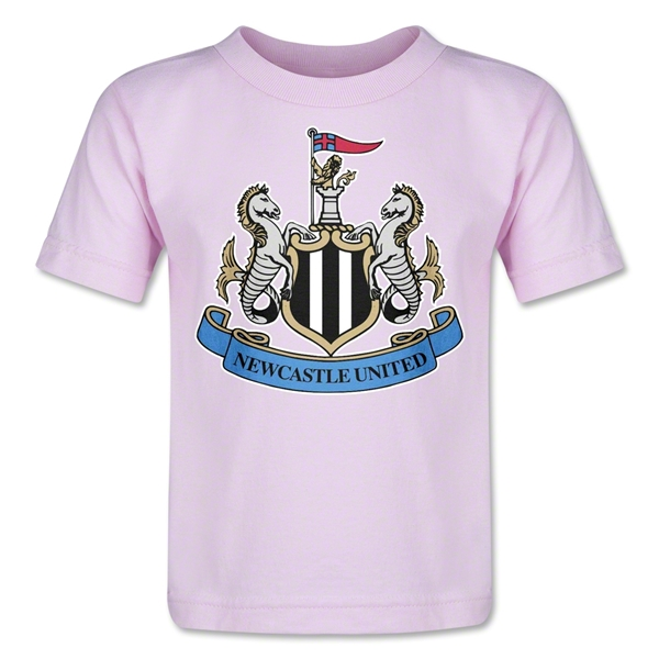 Newcastle United Crest Toddler T-Shirt (Pink)