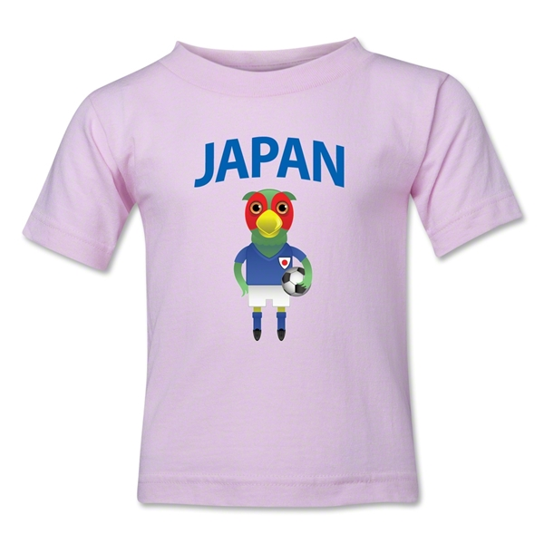 Japan Animal Mascot Toddler T-Shirt (Pink)