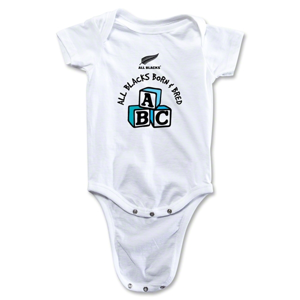 All Blacks Born & Bred Baby Onesie (Boys)