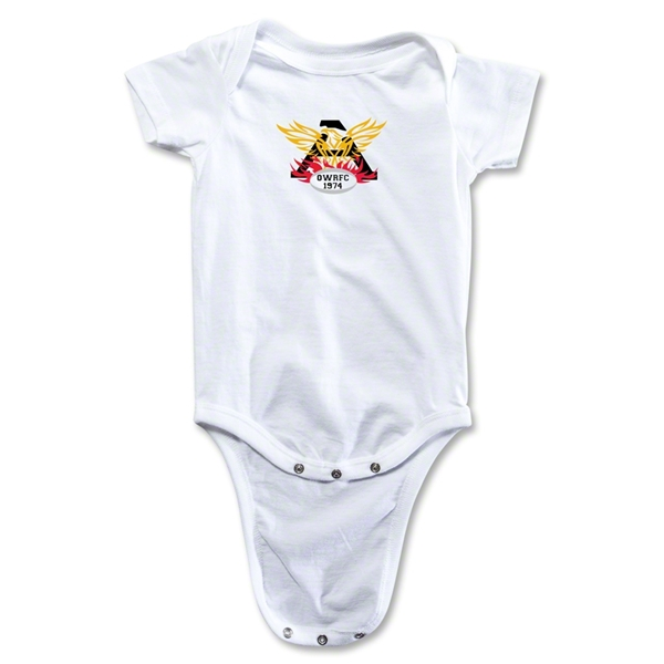 Old White Infant Onesie