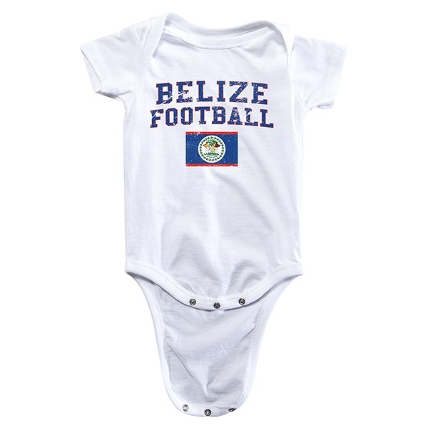 Belize Football Onesie (White)