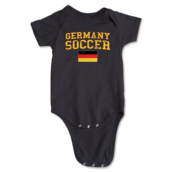 Germany Soccer Onesie (Black)