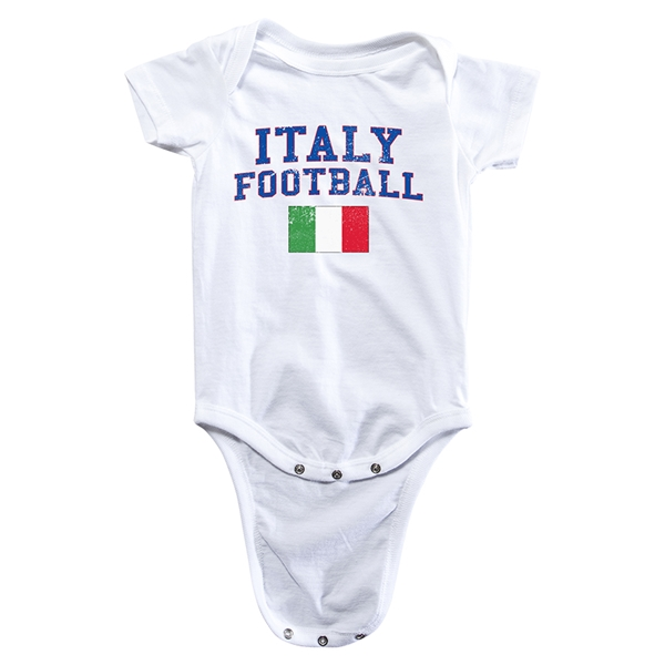 Italy Football Onesie (White)