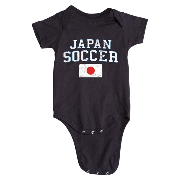 Japan Soccer Onesie (Black)