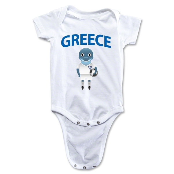 Greece Animal Mascot Onesie (White)