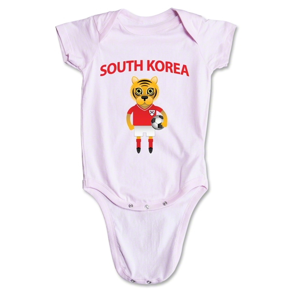 South Korea Animal Mascot Onesie (Pink)