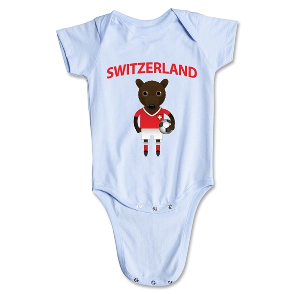 Switzerland Animal Mascot Onesie (Sky)