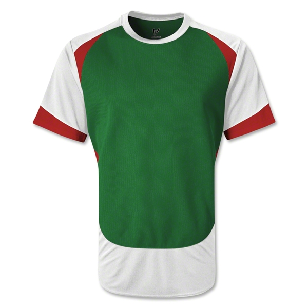 High Five Velocity Jersey 13 (Green/Wht)