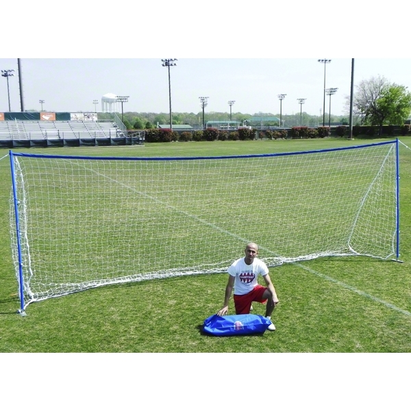 Soccer Wall Club Goal Net with Extension Pole