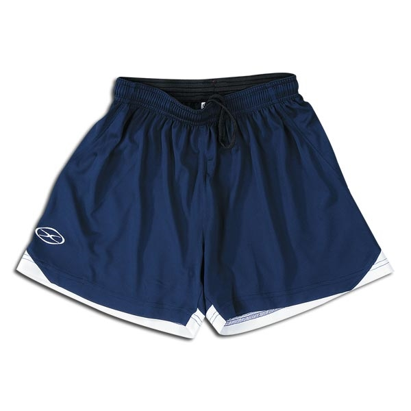 Xara Women's Tour Soccer Shorts (Navy/White)